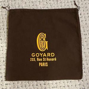 """Goyard Paris Authentic Leather Purse Dust Bag 14"""""""